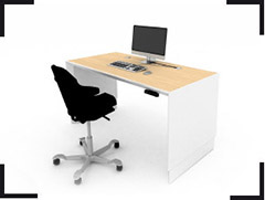 Gamme mobilier Light office